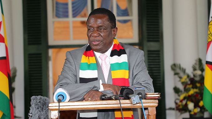 President Mnangagwa Warns of Crackdown on Financial Industry