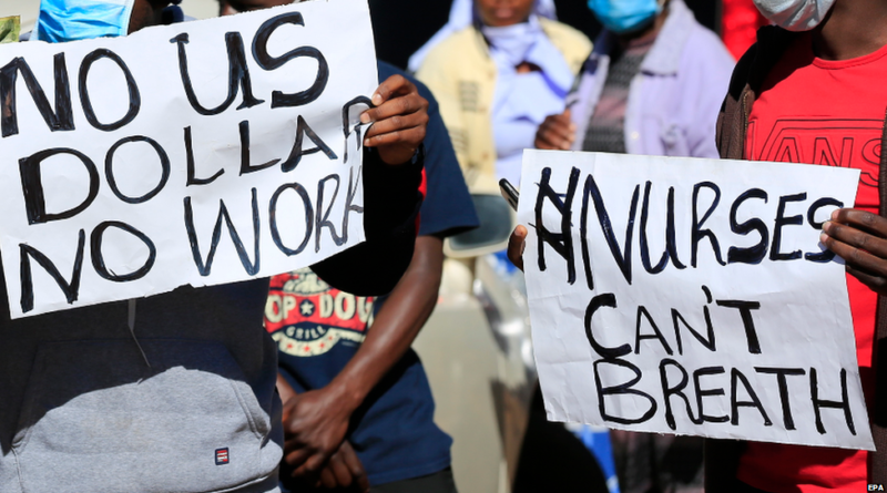 Zimbabwe Doctors, Nurses Challenge Government Rule That Aims to Bar Them from Leaving The Country.