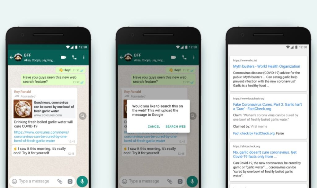 WhatsApp new feature to curb fake news