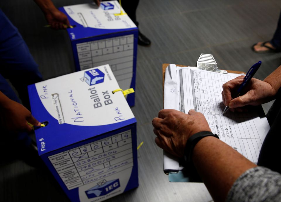 South Africa to hold coronavirus delayed local elections in October.