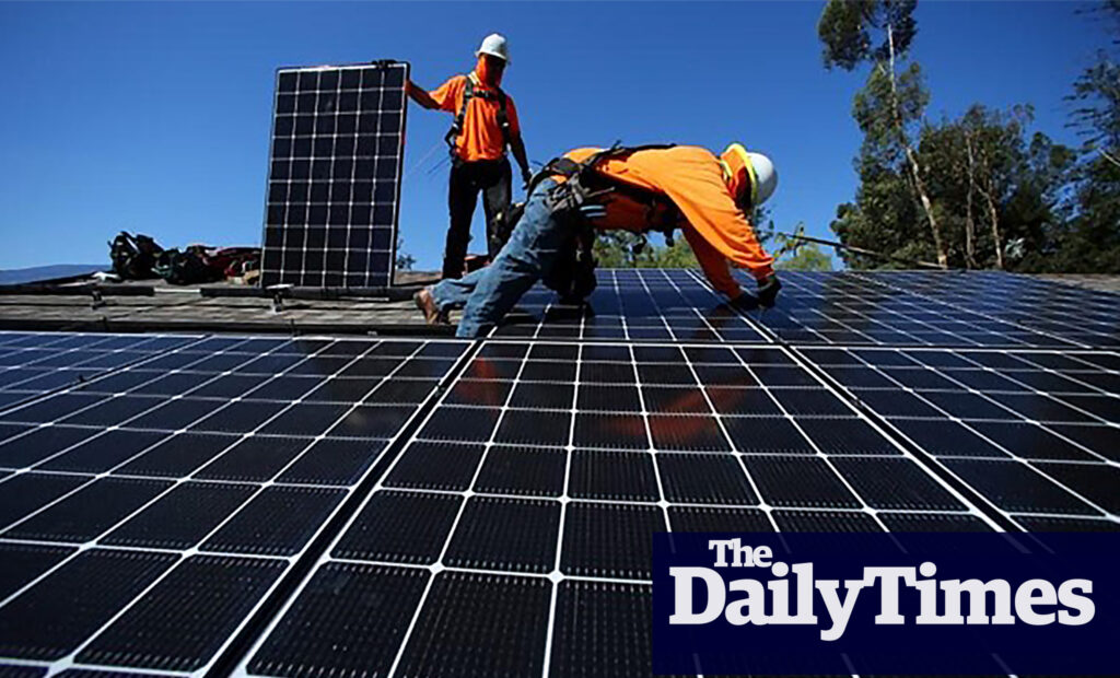 Zimbabwe grants five years tax break to Solar energy producers.