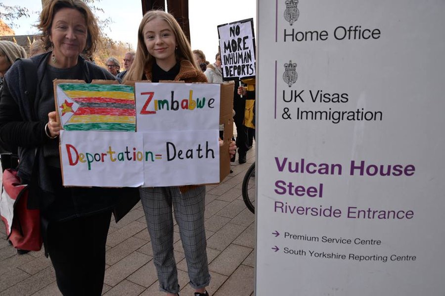 UK MPs call on home secretary to stop deportation flight due to 'systemic oppression' by Zimbabwean government