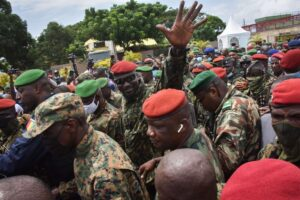 African Union suspends Guinea after military coup
