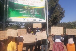 Belvedere Teachers College Students Arrested for protesting fees hike